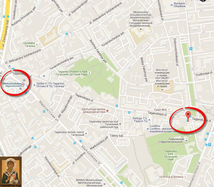 How to get to the monastery Matrona in Moscow-2