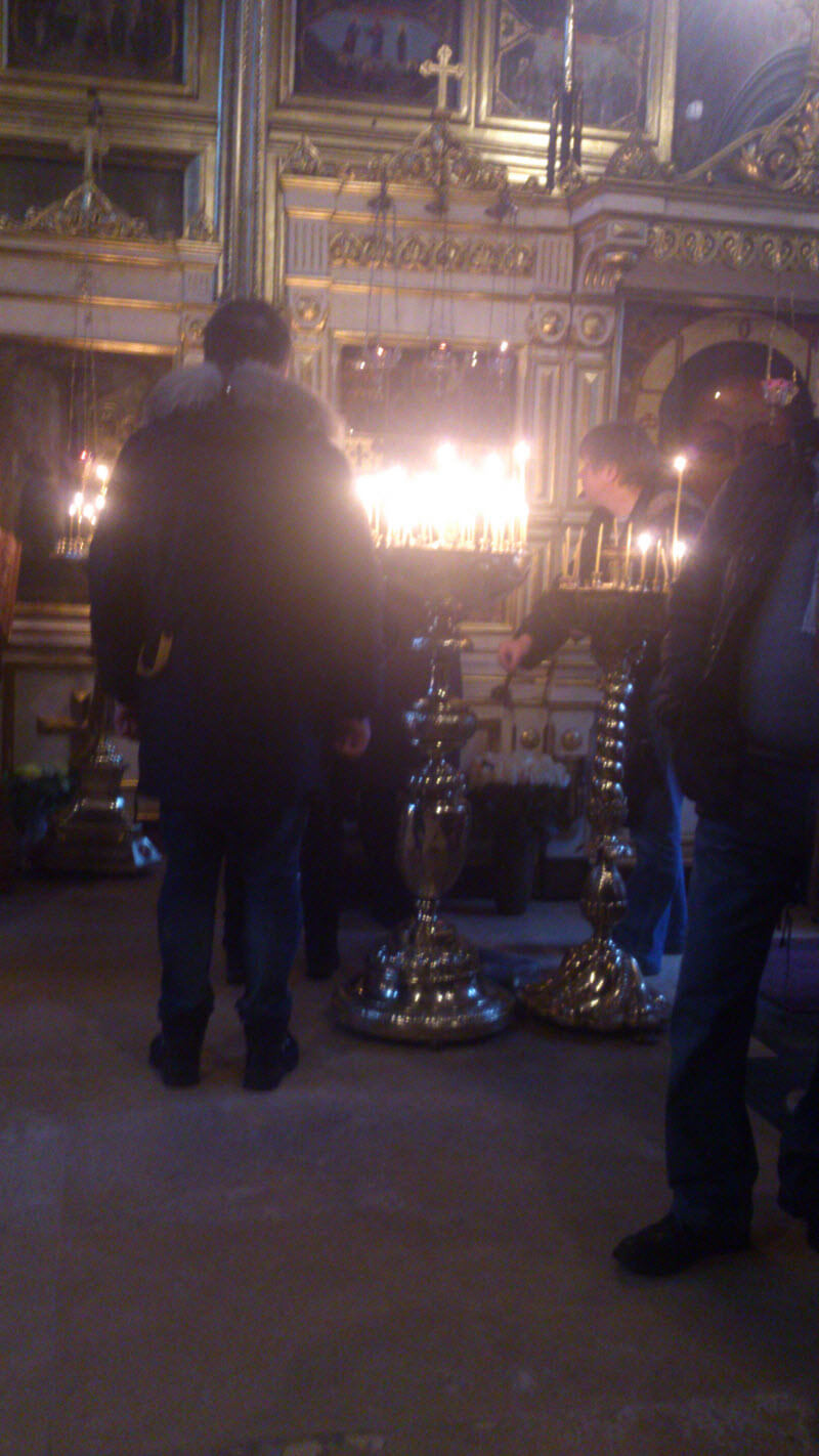 The relics of Saint Spyridon in Moscow-21